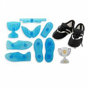 JEM Vykrajovačka Teniska set 8 (Soccer boot and trophy))